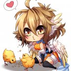 Heles the Chicken-Harpy