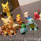Pokemon Figuren anno dazumal. :)