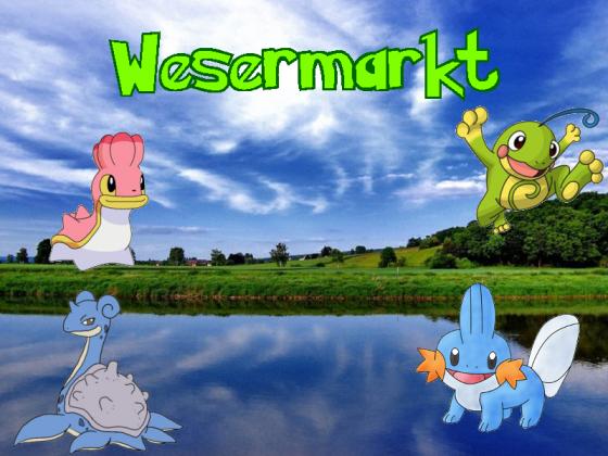 """Banner """"Wesermarkt"""""""