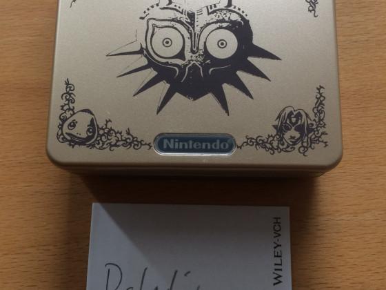 Legend of Zelda Gameboy Advance SP Majoras Mask