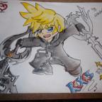 Roxas aus Kingdom Hearts