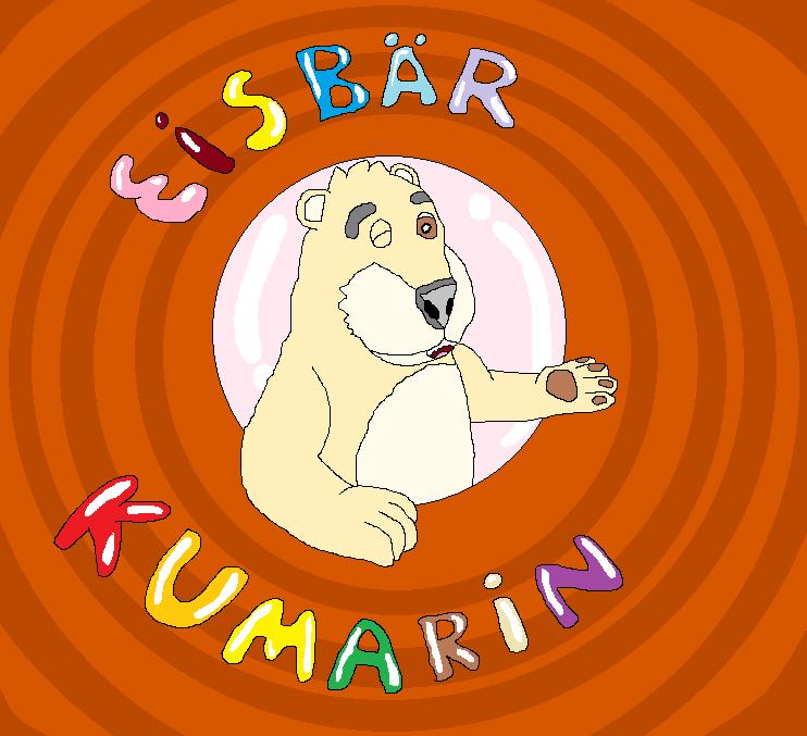 Eisbär Kumarin (Cartoonlogo)