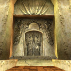 Gravur im Grab der alterwürdigen Könige