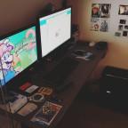 Meine PC und Arbeits-Ecke!