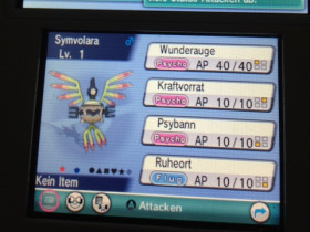 Shiny Symvolara // 251 Eier