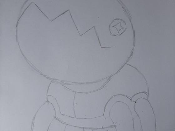 Zeichnung: Knacklion