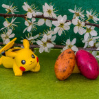 19-004 Pikachus Magnificent Easter Anticipation