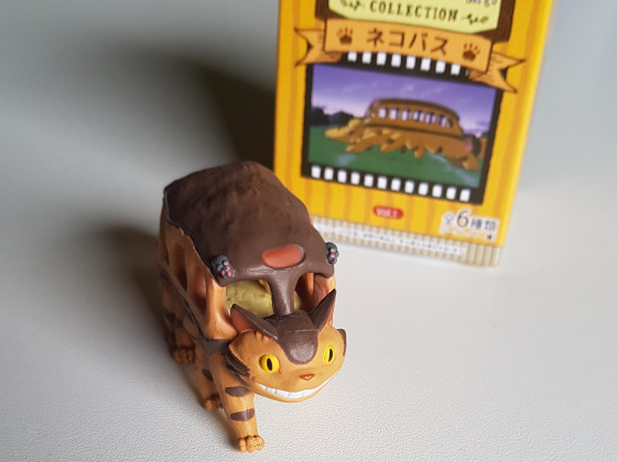 Katzenbus Figur