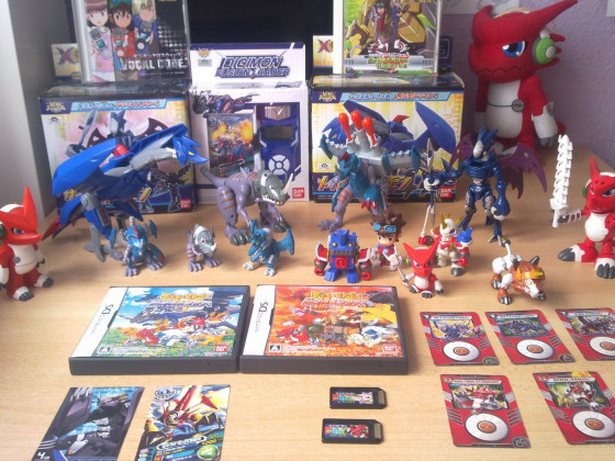 Digimon Xros Wars Sammlung