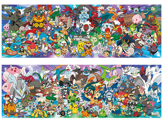 Alle Einall-Pokémon auf einem Blick.