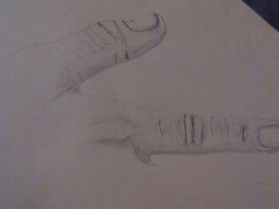 Hand Zeichnung Deteils