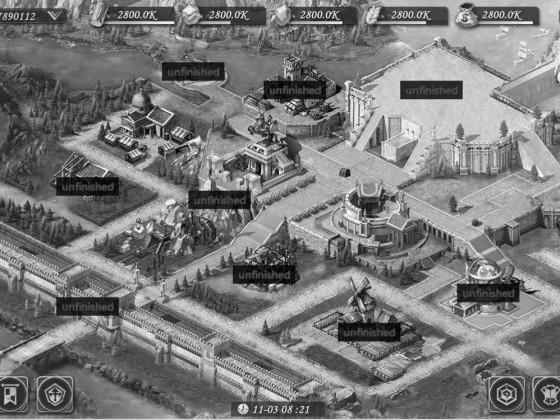Neue Stadt in AoWE, leider nur S/W möglich