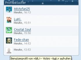 HTML-Kommentar > Profil