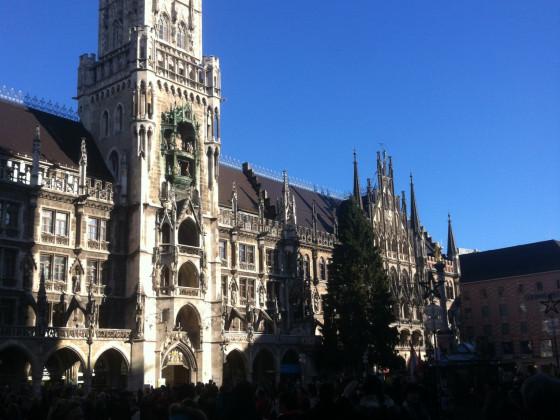 """München mit """"Danae""""."""