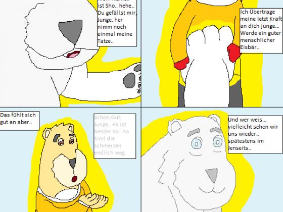 Der Grummelige weise Eisbär (3von3) Abschied und Verwandlung