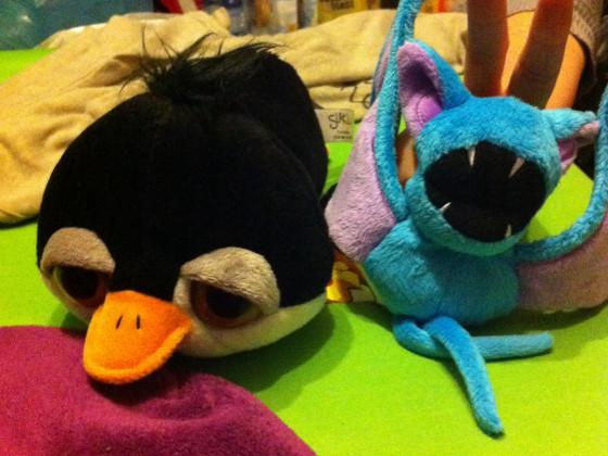 Zubat und Pinguu