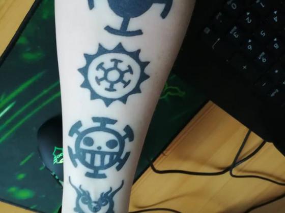 Tattoo #3 Law Tattoo (verheilt)