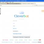 Cleverbot macht Webung o/