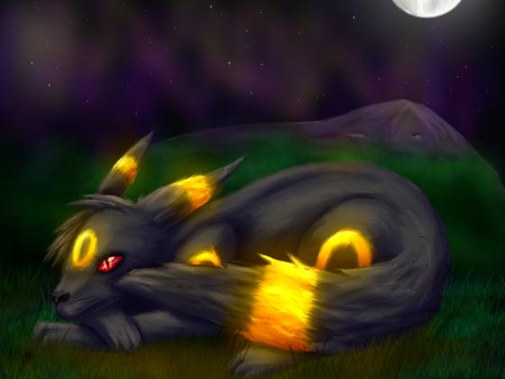 Nachtara in der Nacht