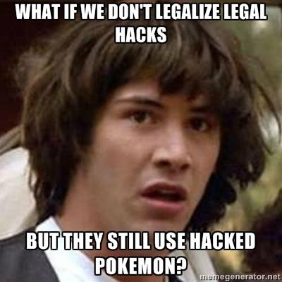 #legalHackAufschrei