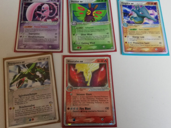 Neue alte ex Karten <3 Vulnona, Rayquaza, Mew .. ex