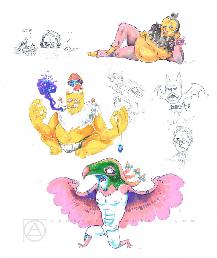 """Pokémon""-Sketchdump"