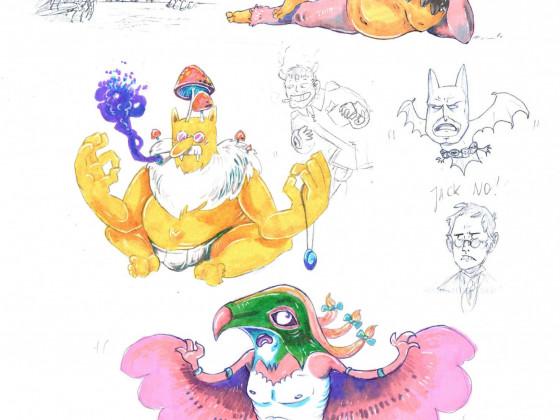 """""""Pokémon""""-Sketchdump"""