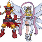 Flawizardmon & Angewomon