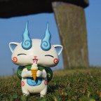 16-009.3 Komasan and the ice cream in late summer