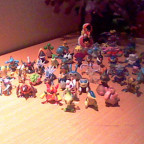 Meine Pokemon Figuren.