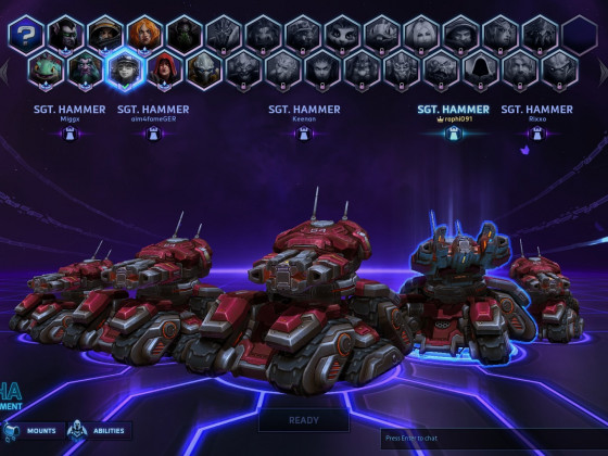 Heroes of the Storm Tech Alpha - Aber ich will Sgt. Hammer haben !!
