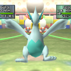 Shiny Lugia in Pokemon Stadium 2