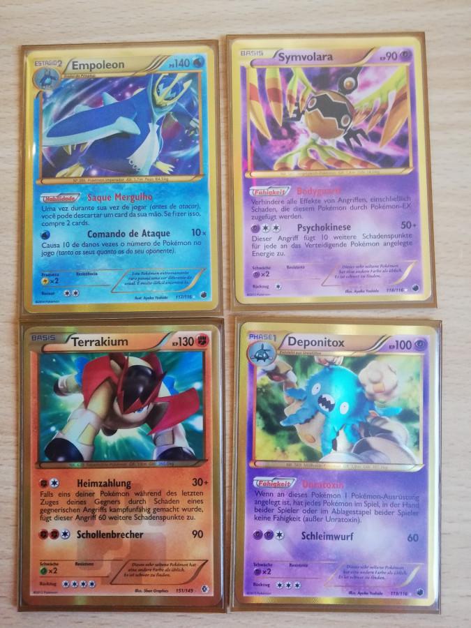 4 Shiny Secret Rare aus den BW Sets <3