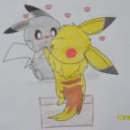 Pikachu und Evoli