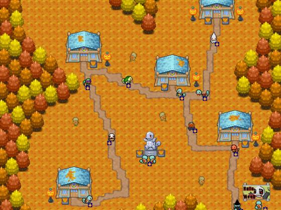 Halloween-Map