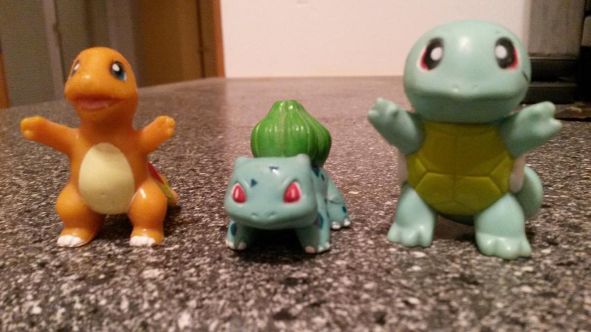 Pokemon Figuren anno dazumal. :)