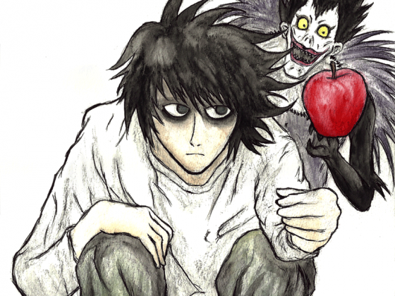 L and his pet