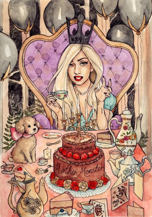 Happy Birthday Gaga!