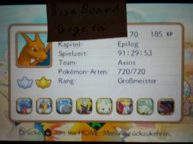 Pokémon Super Mystery Dungeon 100% Durchgespielt
