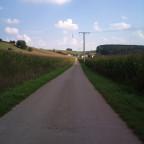Straße.. und Maisfelder :DD