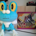 Mein neues Froxy + Pokemon Omega Rubin Steelbook