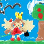 Die Prinzessin Mandy und der Apfelbaum