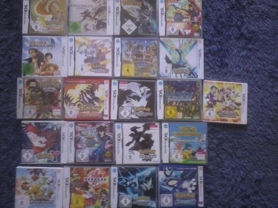Meine 3/DS-Spiele