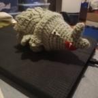 Rihorn aus Wolle 2