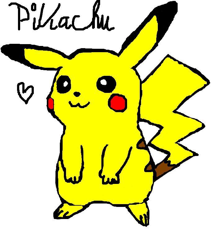 pc pikachu selbst gemalt galerie bisaboard. Black Bedroom Furniture Sets. Home Design Ideas