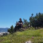 Der Boi Mal Wieder Chillig In Den Bergen Unterwegs