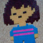 Being made out of fuse beads... fills you with determination