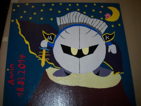 Meta-Knight unter dem Nachthimmel