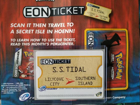 3.Gen EON Ticket!