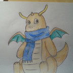 Winter Dragonite